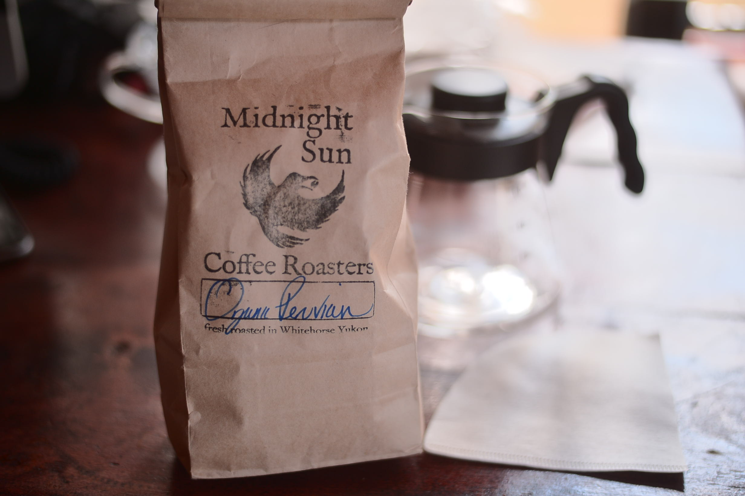 Midnight Sun Coffee Roasters Whitehorse