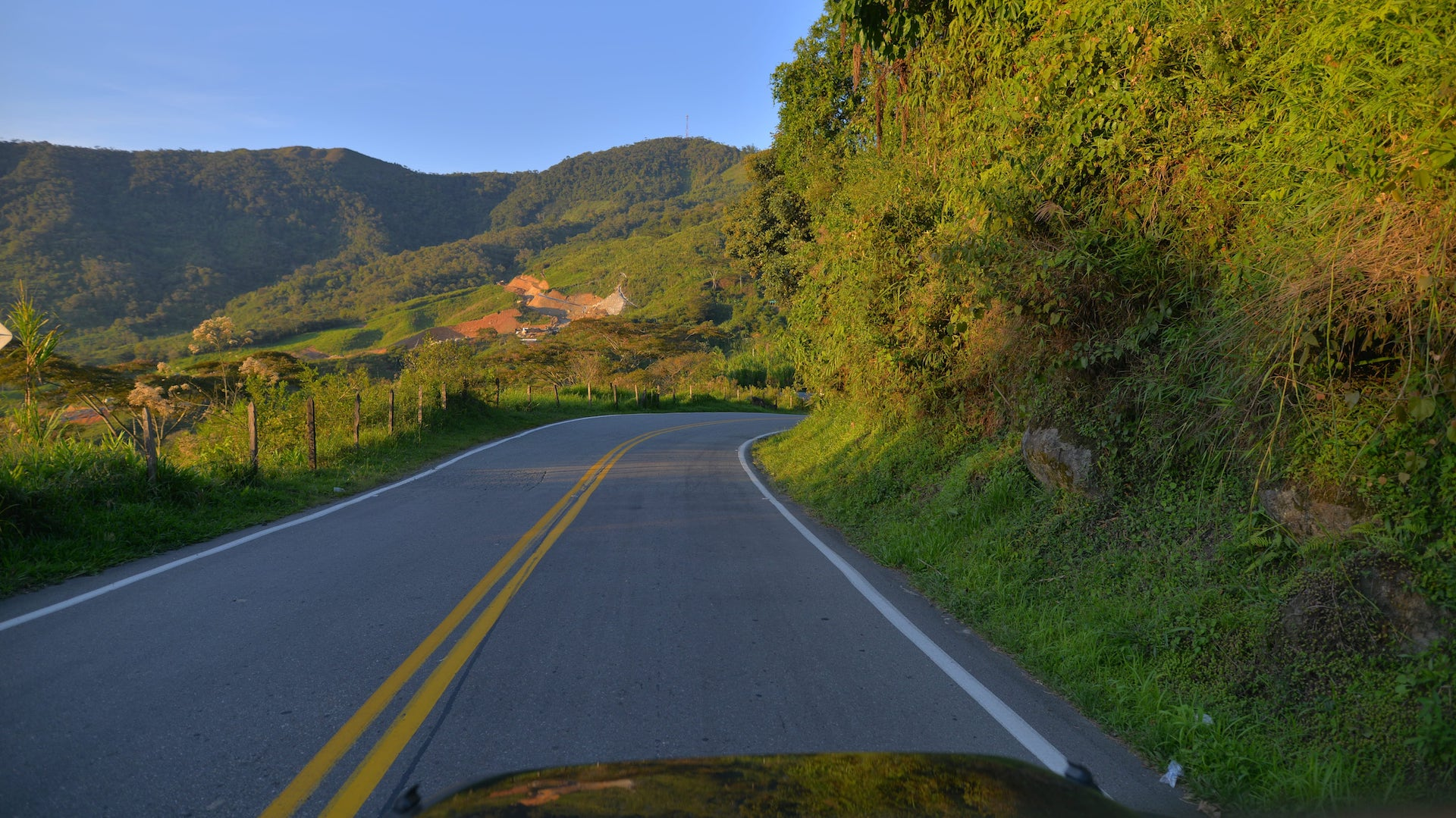 Driving in Argentina