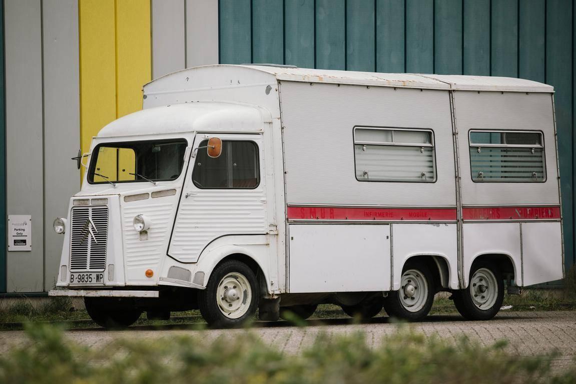Amazing French Innovation: 1970 Citröen HY Filca-France ...
