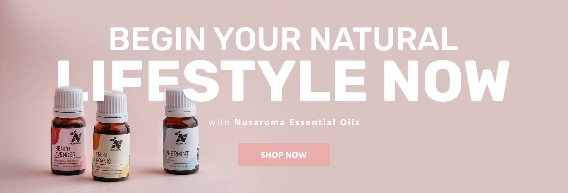 Begin Your Natural Lifestyle Now