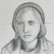 Marie-Thérèse Walter pencil