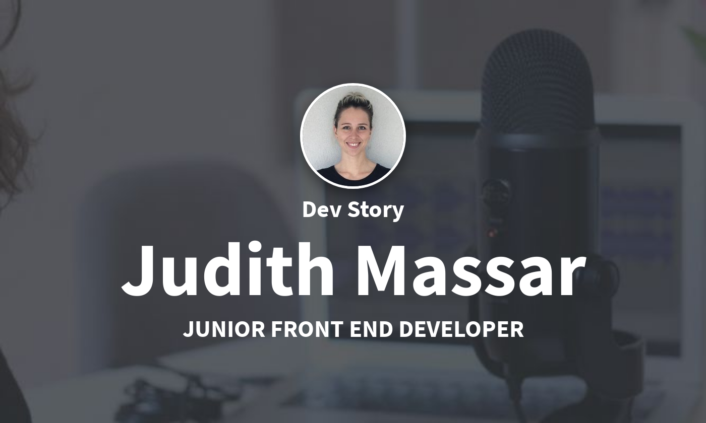 DevStory: Junior Front End Developer, Judith Massar