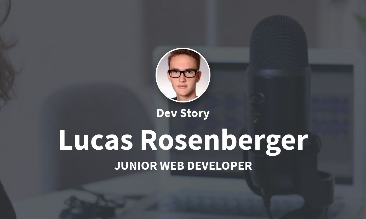 DevStory: Junior Web Developer, Lucas Rosenberger