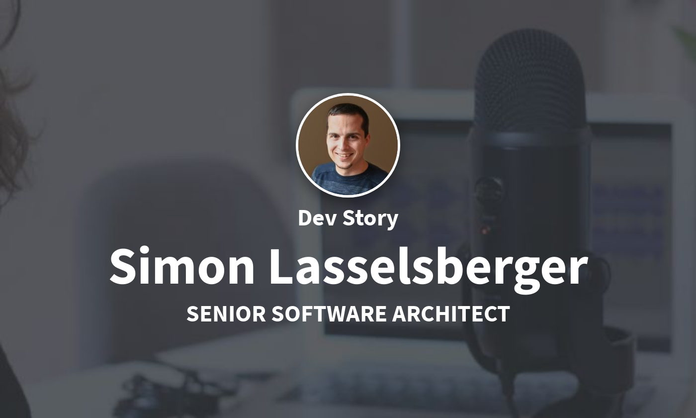 DevStory: Software Architect, Simon Lasselsberger