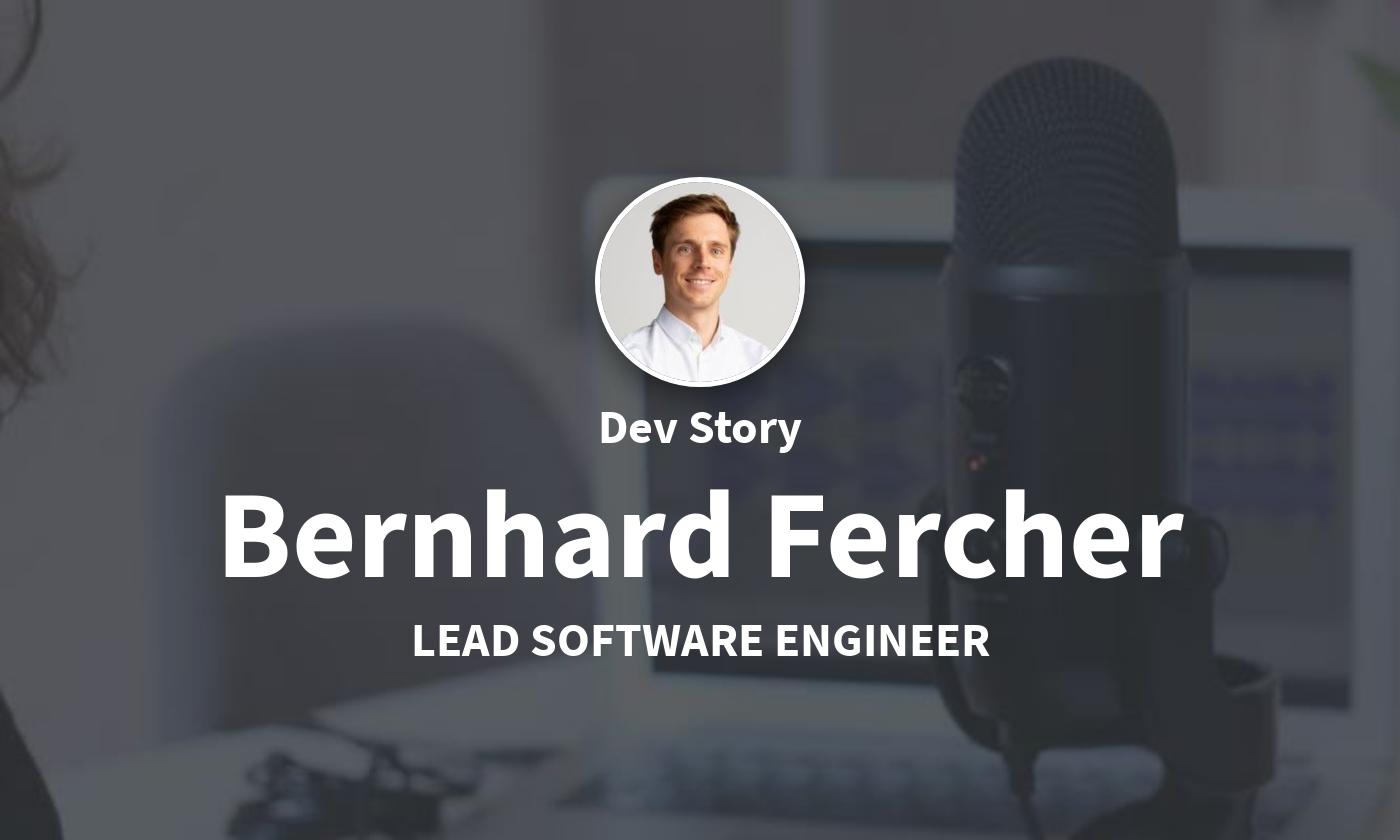 TechLead-Story: Bernhard Fercher, Engineering Lead bei Innerspace