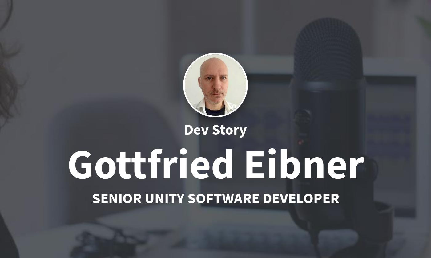 DevStory: Senior Unity Developer, Gottfried Eibner von Innerspace