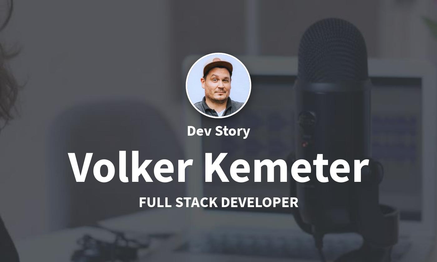 DevStory: Volker Kemeter, Fullstack Developer von supseven