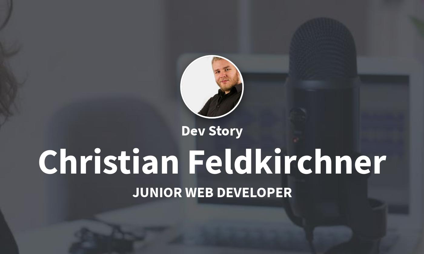 DevStory: Junior Web Developer, Christian Feldkirchner