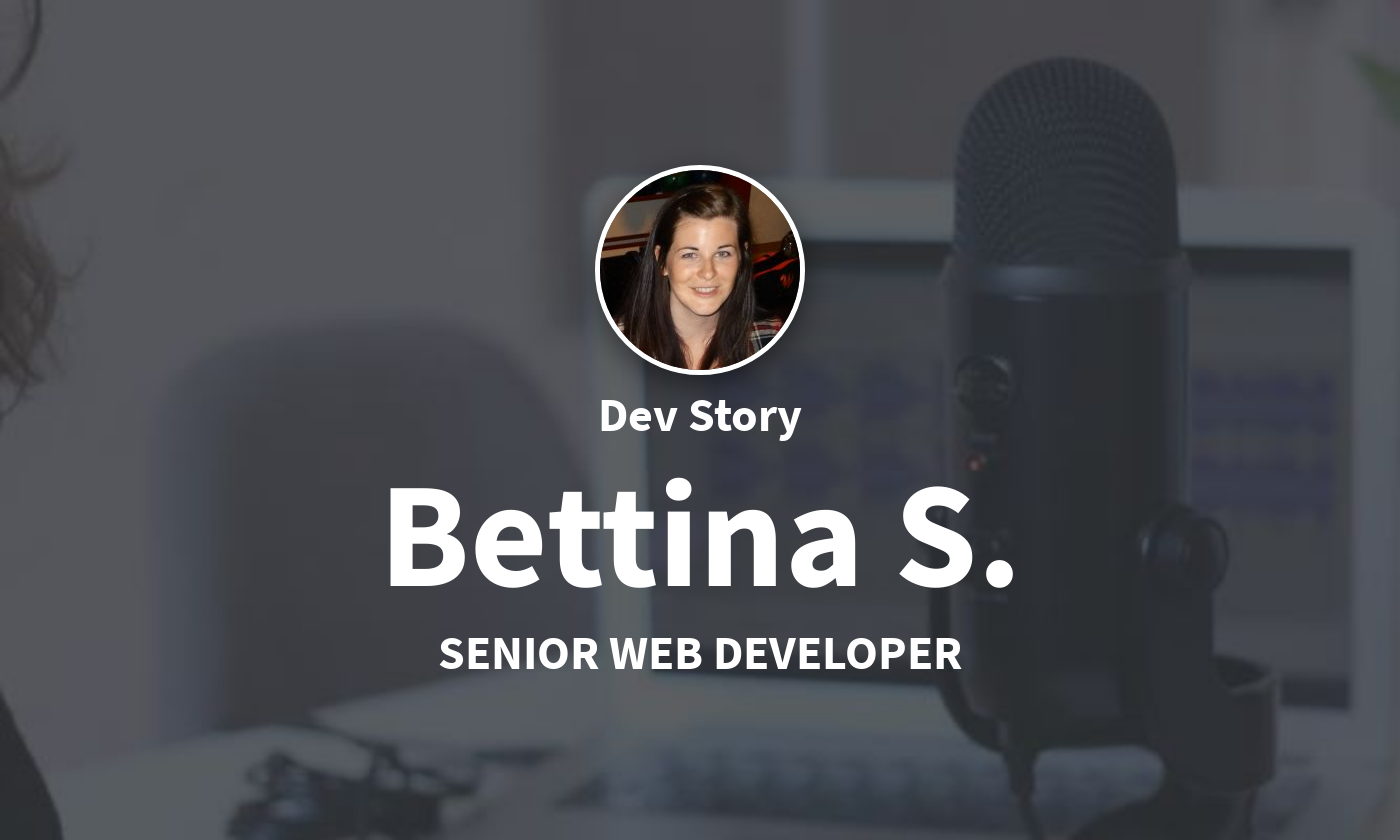 DevStory: Web Developer Bettina S.