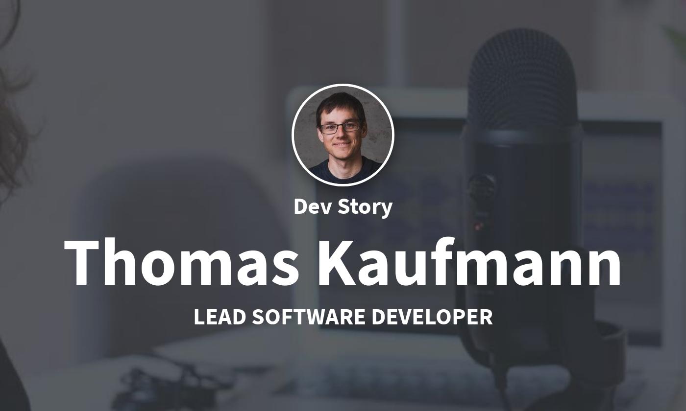 TechLead-Story: Thomas Kaufmann, Tech Lead bei Parkside
