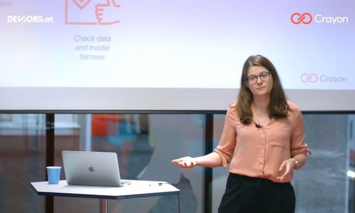 """Tech Talk: """"Fair AI"""" mit Annalisa Cadonna von Crayon"""