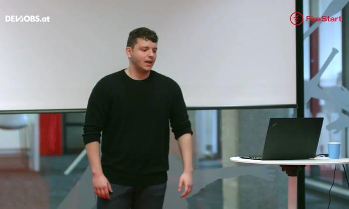 """Tech Talk: """"Inner Sourced Infrastructure"""" mit Karim Darwish von FireStart GmbH"""
