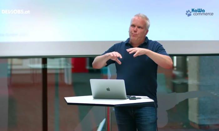"Tech Talk: ""Event Driven Architecture in AWS"" mit Walter Huber von KaWa commerce"