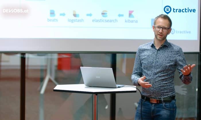 """Tech Talk: """"Logging in a Polyglot IoT Environment"""" mit Dominik Hurnaus von Tractive GmbH"""