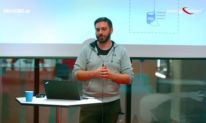 """Tech Talk: """"Multi-Tenant SaaS App"""" mit Thomas Ebner von Ramsauer & Stürmer"""