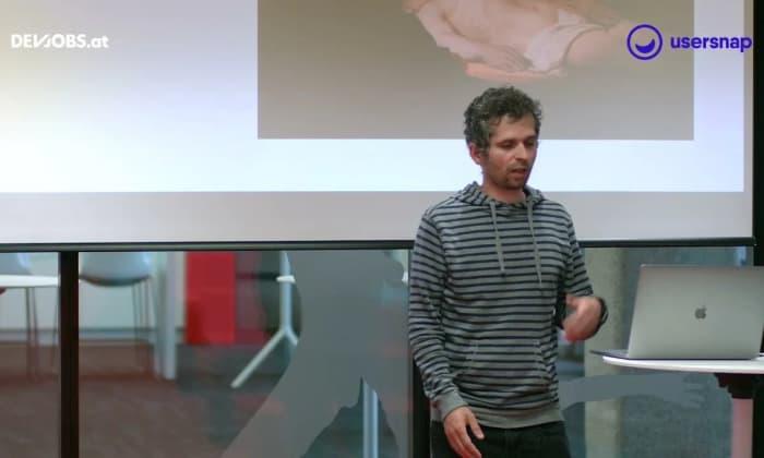 """Tech Talk: """"Infrastructure as Code"""" mit Martin Sereinig von Usersnap GmbH"""