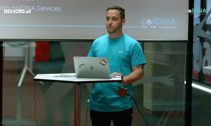 """Tech Talk: """"Industrial High Speed Cloud OCR"""" mit Jan Wagner von coilDNA"""