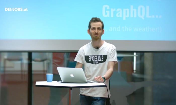 """Tech Talk: """"An Arduino meets GraphQL (and the weather!)"""" mit Sascha Zarhuber"""