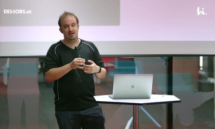 """Tech Talk: """"Declarative UI on Android"""" mit Adrian Tappe von hi.health"""