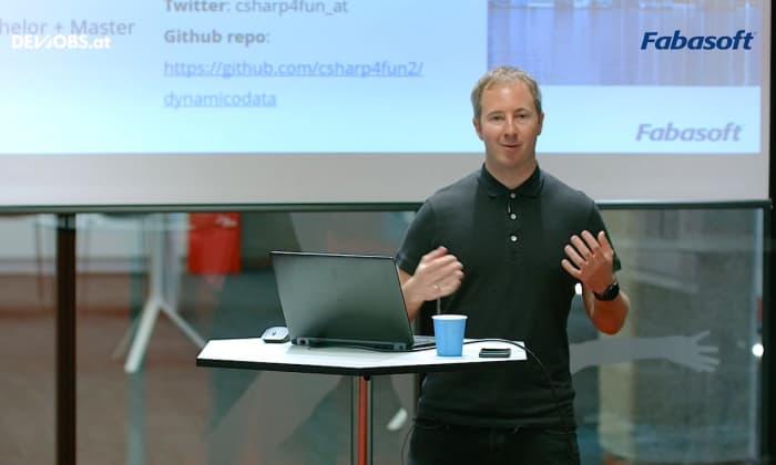 """Tech Talk: """"Dynamically created OData Datasource"""" mit Gerald Leitner von Fabasoft"""
