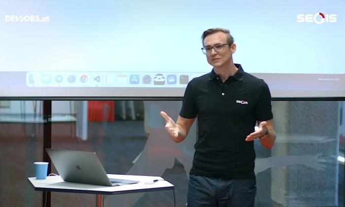 """Tech Talk: """"JavaScript and (Non) Blocking UI"""" mit Klemens Loschy von SEQIS"""