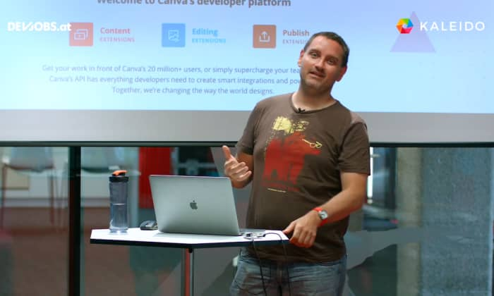 "Tech Talk: ""Integrating Lorem Picsum into Canva"" mit Andreas Braumann von Kaleido"
