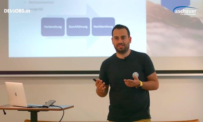 """Tech Talk: """"Bürgernahe Digitalisierung"""" mit Agry Zarza von Aschauer IT & Business"""
