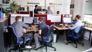 Magna - Arbeitsplatz