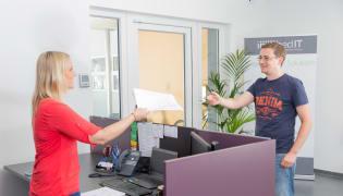 incubed IT GmbH - Arbeitsplatz