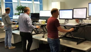 it-eXperts IT-Dienstleistungs GmbH - Arbeitsplatz