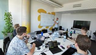 Gepardec IT Services GmbH - Arbeitsplatz