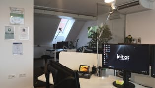 init.at informationstechnologie GmbH - Arbeitsplatz