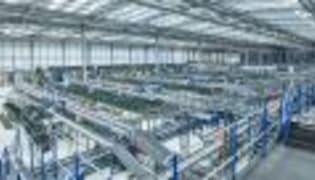 Just-in-time Produktionsversorgung bei Volkswagen