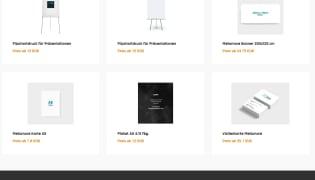 Web2Print Portal inkl. Auftragstool