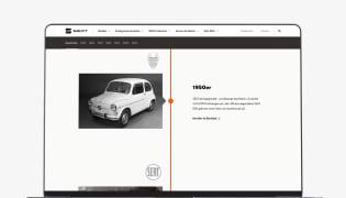 SEAT Österreich Website Relaunch