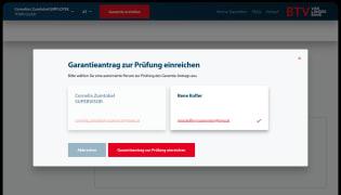 BTV Garantieportal