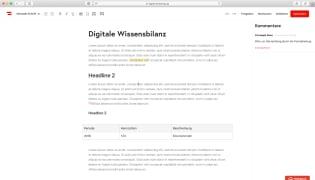 Portal: digitale Wissensbilanz