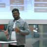 "Tech Talk: ""How Do Robots Create Maps?"" mit Sprince Jeberson Logo"