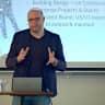 "Tech Talk: ""Building Web Development Ecosystems"" mit Fabian Hippmann von Moonshiner Logo"