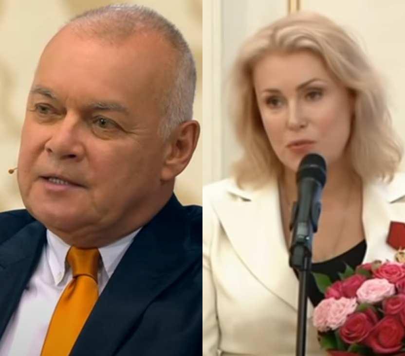 Дмитрия Киселёва вывела из себя позиция Марии Шукшиной относительно вакцинации