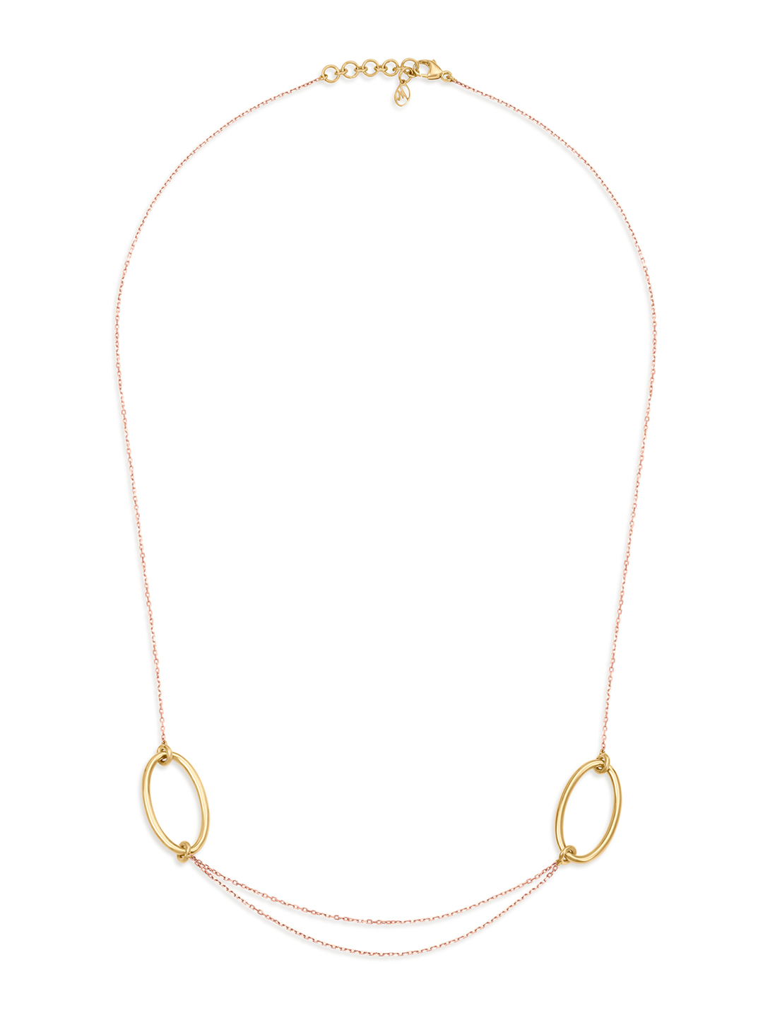 Mia by Tanishq 14-Karat Yellow Gold Necklace Price in India