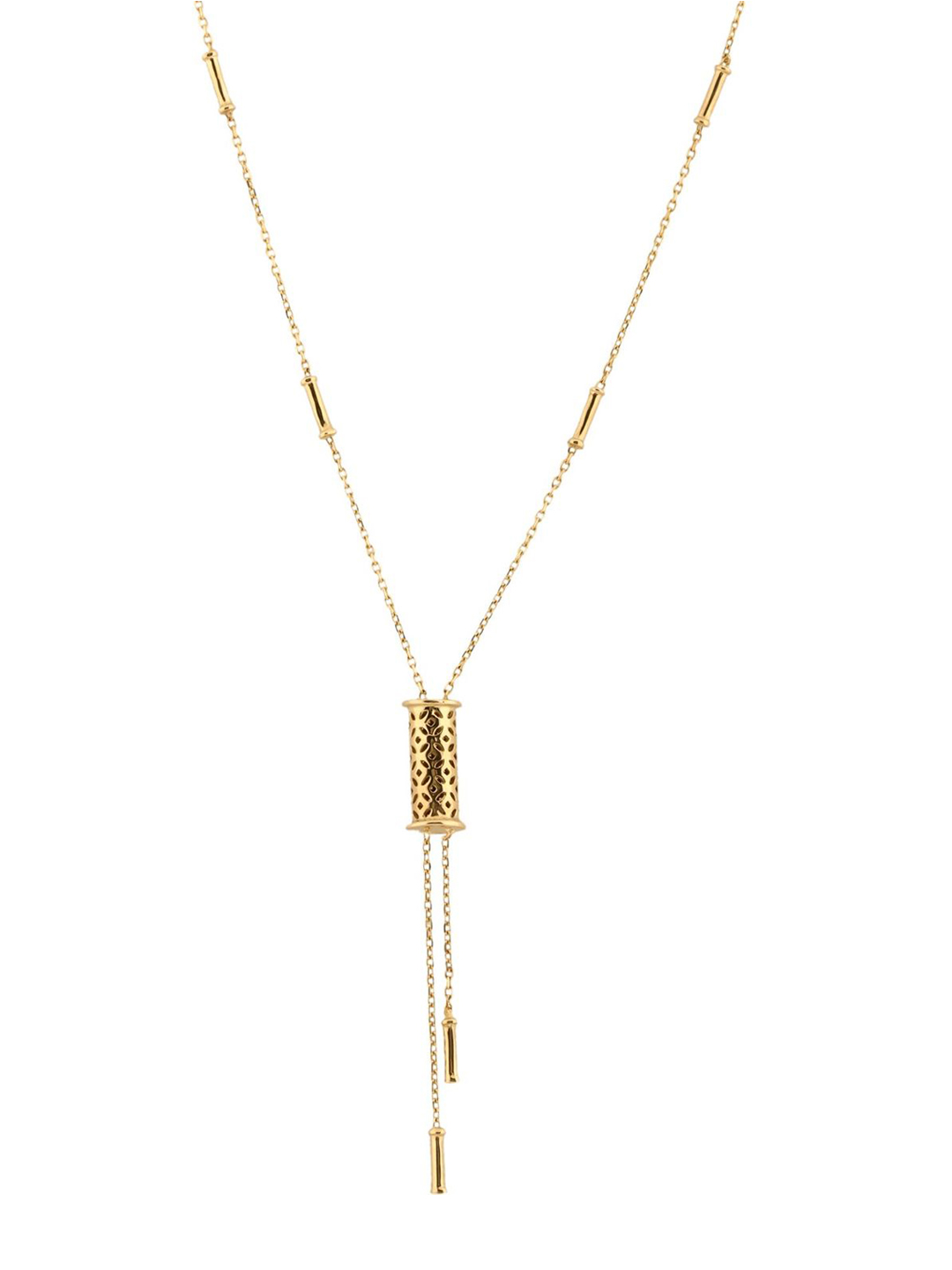 Mia by Tanishq 14KT Yellow Gold Necklace Price in India