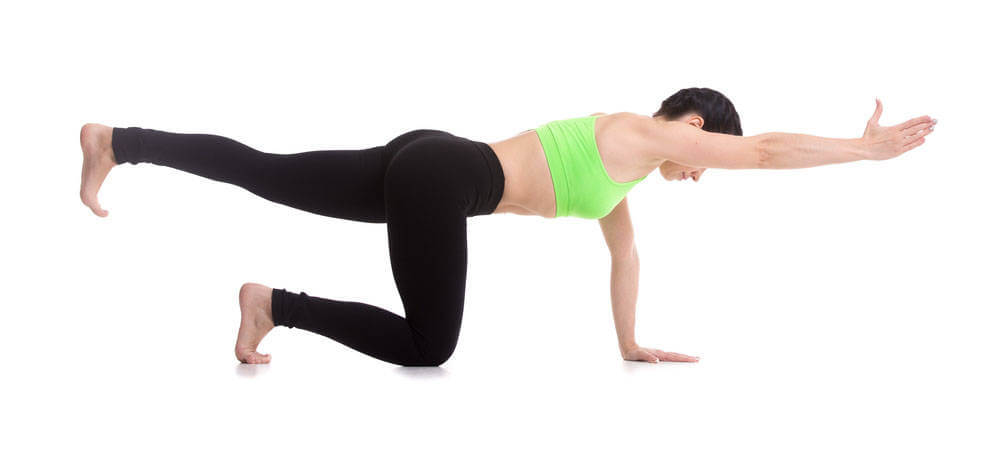 Opposite Arm and Leg Balance exercise