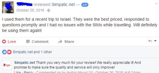 simpatic.net israel sim card review