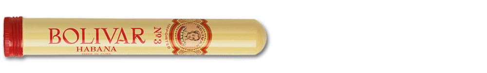 Bolivar Bolivar Tubos No.3 Cuban Cigars