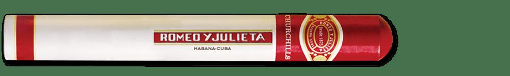 Romeo y Julieta Churchills Tubo Cuban Cigars