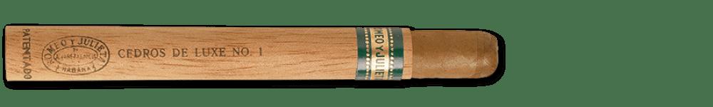 Romeo y Julieta Cedros de Luxe No.1 Cuban Cigars