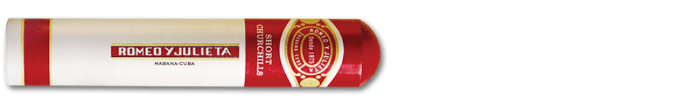 Romeo y Julieta Short Churchills Tubo Cuban Cigars