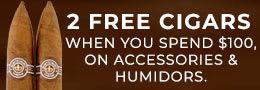 2 free cuban cigars