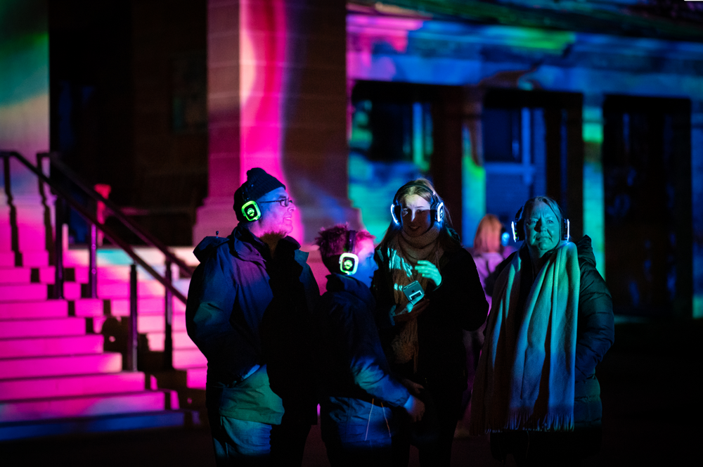 Bathurst Winter Festival Esem Projects Projection and Silent Disco